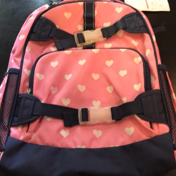 Pottery Barn Kids Bags Pink Hearts Large Girls Pottery Barn
